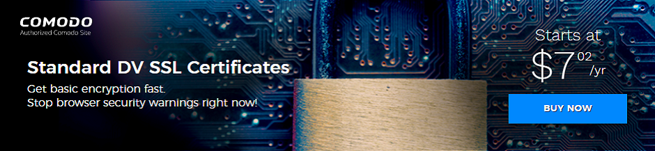 Standard SSL Certificates