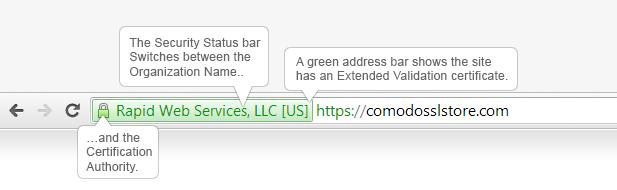 Green Address Bar SSL Certificate