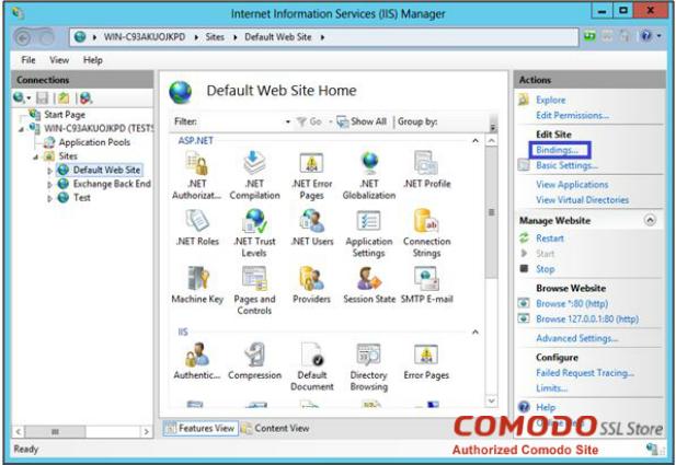 installing comodo ssl certificate iis 7