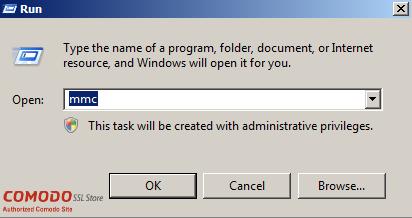 SSL Export into Windows Server