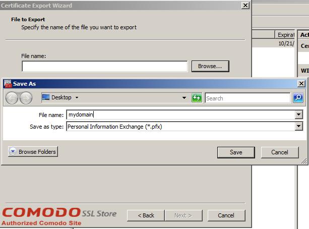 SSL Export into Windows Server - 13