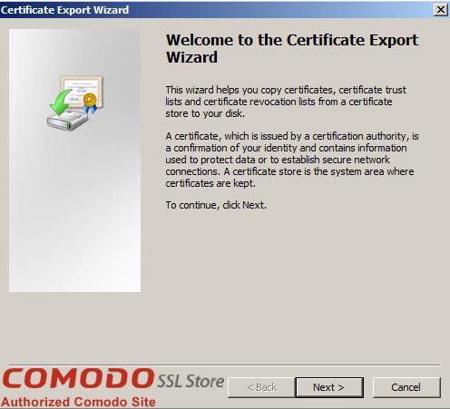 SSL Export into Windows Server - 9