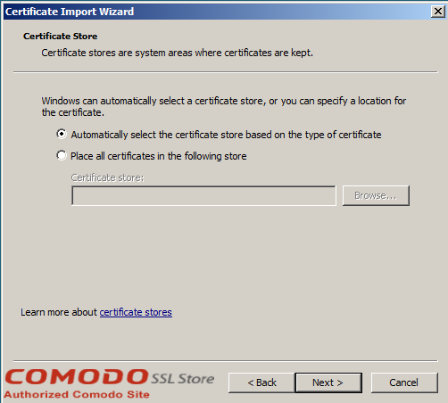 SSL Import into Windows Server - 5