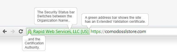 Green Address Bar