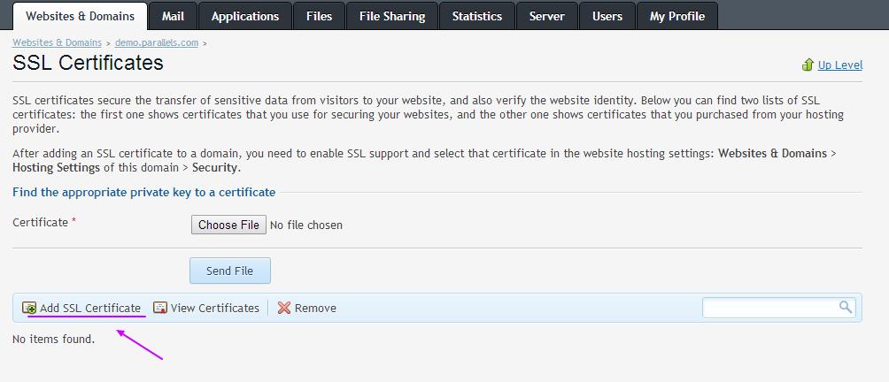 how to create ssl certificate in windows