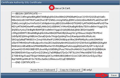 Use a CA Certificate