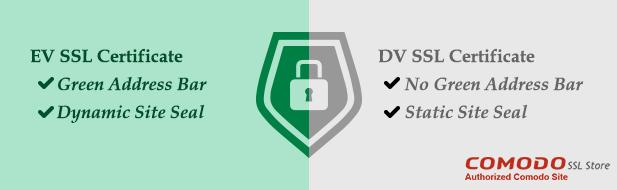 EV SSL vs DV SSL