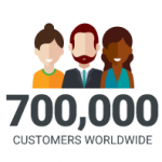 Comodo is trusted by 700,000 customers