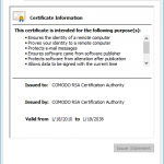 Comodo RSA Certification Authority