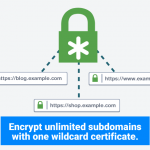 How wildcard ssl certificates work