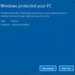 Code Signing Certificate Comparison - Microsoft SmartScreen