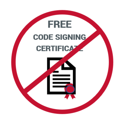 Graphic: There's no such thing as a free code signing certificate