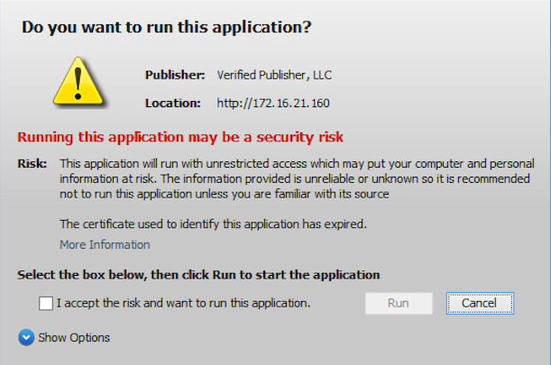 graphic: renew your code signing certificate to avoid warning messages
